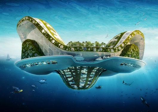 Lilypad - плавающие города